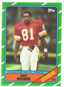 【送料無料】スポーツ メモリアル カード フットボールチームセットワシントンレッドスキンズ1986 topps football team set washington redskins