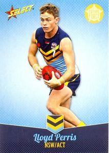 【送料無料】スポーツ メモリアル カード #ロイドニューサウスウェールズ2013 afl select future force nab under 18 players 12 lloyd perrisnswact