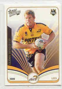 【送料無料】スポーツ メモリアル カード ー#グレン2006 nrl invincibles 105 glenn morrisoneels