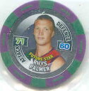 【送料無料】スポーツ メモリアル カード スターパーマー2010 afl chipz fremantle future star rhys palmer