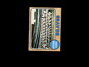 【送料無料】スポーツ メモリアル カード 1968トップス221アトランタブレーブスチームnmd7489951968 topps 221 atlanta braves team nm d748995