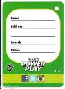 楽天hokushin【送料無料】スポーツ メモリアル カード 2015nrlパワープレーbag tagbt32015 nrl power play bag tag bt3 raiders