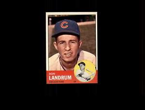 【送料無料】スポーツ メモリアル カード 1963トップス113ランドラムnmd6301991963 topps 113 don landrum nm d630199