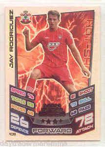 【送料無料】スポーツ メモリアル カード 20122013attax mmサザンプトンジェイロドリゲス20122013 match attax mm southamptonjay rodriguez