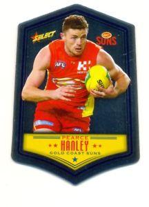 【送料無料】スポーツ メモリアル カード 2018afl select footy starsdc59ピアスハンリーカットゴールドコースト2018 afl select footy stars die cut dc59 pearce hanley gold coast