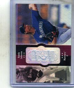 【送料無料】スポーツ メモリアル カード ランディージョンソンスペクトルカード#randy johnson 1998 spx finite spectrum card 320 2250