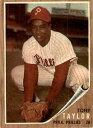 【送料無料】スポーツ メモリアル カード 1962トップス77トニーテーラーexmtd3704221962 topps 77 tony ta...