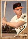 【送料無料】スポーツ メモリアル カード 1962トップス382ディックウィリアムズexmtd370786
