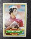 【送料無料】スポーツ メモリアル カード 1980トップス475ジョーtheismannワシントンレッドスキンズ1980 topps 475 joe theismann w..