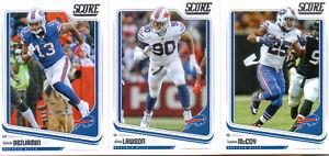 【送料無料】スポーツ メモリアル カード 2018score buffalo bills team set6rookie cards16cards2018 score buffalo bills team set 6 rookie cards 16 cards