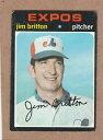 數位內容 - 【送料無料】スポーツ メモリアル カード 1971トップス699ジムbritton hi1971 topps 699 jim britton hi