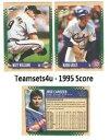【送料無料】スポーツ メモリアル カード 1995スコアチーム**ピックチームセット**