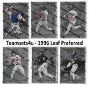 【送料無料】スポーツ メモリアル カード 1996セット*descriptチーム**チェックリスト