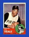 【送料無料】スポーツ メモリアル カード ボブベースボールカード#nearmint 1963 bob veale topps basebal...