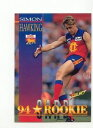 【送料無料】スポーツ メモリアル カード シリーズサイモンホーキンスフィッツロイ1995 select series 1 rookie si...