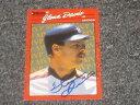 【送料無料】スポーツ メモリアル カード 1990グレンデイビスdonrussベースボールカードjsa aucサイン1990 glenn davis donruss autographed baseball card jsa auc cert