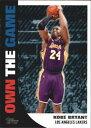 【送料無料】スポーツ メモリアル カード 200809 トップスゲームotg16コビーブライアント nmmt200809 topps own the game otg16 kobe bryant nmmt