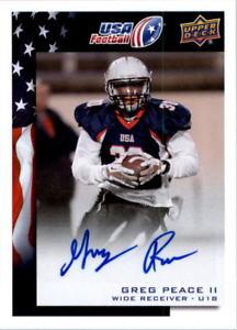 【送料無料】スポーツ メモリアル カード アッパーデッキアメリカサッカーサイン#グレッグ