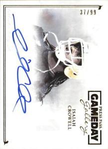 【送料無料】スポーツ メモリアル カード ギャラリーゴールドプレスパス2014 press pass gameday gallery gold ggic isaiah crowell