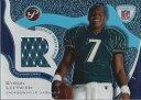 【送料無料】スポーツ メモリアル カード プリミアジャージー2003 topps pristine rookie premiere jerseys rprbl byron leftwich jersey