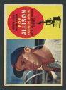 【送料無料】スポーツ メモリアル カード 1960トップス320ボブアリソンexexセネターズas309301960 topps 320 bob allison exex senators as 30930