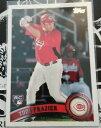 【送料無料】スポーツ メモリアル カード トッドカードレッズ2011 todd frazier topps update rookie card us270 reds