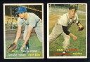 【送料無料】スポーツ メモリアル カード 2 tigers lot 1957 topps357 earl torgeson168frank ...