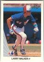 【送料無料】スポーツ メモリアル カード 1990leaf baseball325 larry walker rookie near mint1990 leaf baseball 325 larry walker rookie near mint