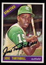 【送料無料】スポーツ メモリアル カード 1966トップス143ホセtartabull autographed signedカンザスシティー...