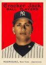 【送料無料】スポーツ メモリアル カード クラッカージャック#アレックスロドリゲスニューヨークヤンキース