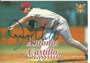 【送料無料】スポーツ メモリアル カード cardenales de lara lvbp9tony castilloサインラインupカードtony castillo autograph line up card signed in person cardenales de lara l