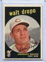 【送料無料】スポーツ メモリアル カード ミント1581959トップスベースボールカードウォールトdropoシンシナティレッズ1959 topps baseball card walt dropo cincinnati reds near mint 158