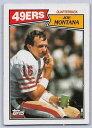 【送料無料】スポーツ メモリアル カード 1987joe montana トップスフットボール112 サンフランシスコ49ers1987 joe montana topps football card 112 san francisco 49ers