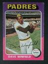【送料無料】スポーツ メモリアル カード 1975トップスmini61デイブウィンフィールドサンディエゴパドレスヤンキース1975 topps min..
