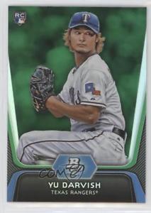 【送料無料】スポーツ メモリアル カード プラチナグリーン#テキサスレンジャーズカード2012 bowman platinum green 9 yu darvish texas rangers rookie baseball card