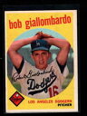 【送料無料】スポーツ メモリアル カード #ボブ1959 topps 321 bob giallombardo var a exmt lh6...
