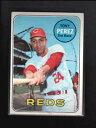 【送料無料】スポーツ メモリアル カード #トニーペレス1969 topps 295 tony perez ex d4569
