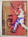 【送料無料】スポーツ メモリアル カード レザーベースボールカードcasey kotchman signed rc angels 2005 donruss leather amp; lumber baseball card auto
