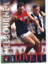 【送料無料】スポーツ メモリアル カード シリーズ#ブレットメルボルン1996 select afl series 2 328 brett lovett melbourne