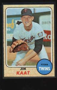 【送料無料】スポーツ メモリアル カード #ジム1968 topps 450 jim kaat twins nm lh3030