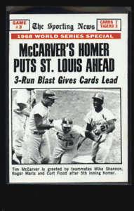 【送料無料】スポーツ メモリアル カード #ワールドシリーズゲームホーマー1969 topps 164 world series game 3 mccarvers homer ex lh3224