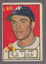 【送料無料】スポーツ メモリアル カード #エドヨーストワシントン1952 topps 123 ed yost, washington se...