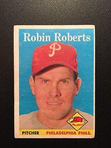 【送料無料】スポーツ メモリアル カード ロビンロバーツロット1958 topps baseball 090 robin roberts lot a
