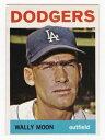 【送料無料】スポーツ メモリアル カード ムーン#ロサンゼルスドジャースプラスwally moon 1964 topps baseball ...