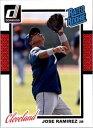 【送料無料】スポーツ メモリアル カード #ホセラミレスカード2014 donruss 258 jose ramirez rc rookie card nmmt