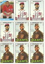 【送料無料】スポーツ メモリアル カード listing9 card denard span baseball card lot6 list...