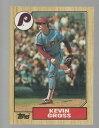 【送料無料】スポーツ メモリアル カード ケビングロスコレクターカード163 kevin gross 1987 baseball collector card
