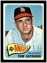 【送料無料】スポーツ メモリアル カード 1965topps baseball 124tom satriano1965 topps baseball 124 tom satriano