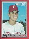 【送料無料】スポーツ メモリアル カード #ビリーウィルソン1970 topps baseball 28 billy wilson