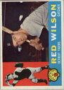 【送料無料】スポーツ メモリアル カード listing1960トップス379aウィルソンwb vg listing1960 topps 379a red wilson wb vg
